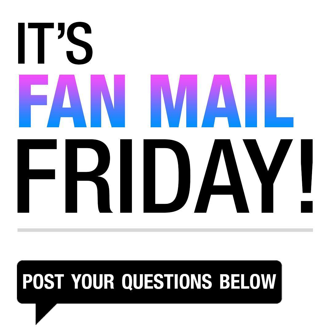It's #FanMailFriday on #TheFive today - you know the drill, what questions would you like to ask the hosts?