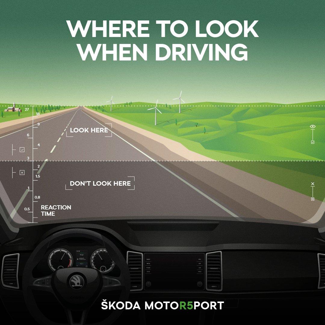 caeab232dad5f Drive like a PRO: Watch the road like a rally driver! https://www.skoda- motorsport.com/en/drive-like-pro-watch-road-like-rally-driver/ …
