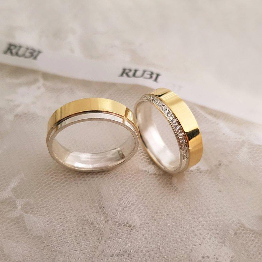 8d8c8e47d54 Dica para o noivado dos sonhos  Alianças de Ouro e Prata Blanca New . Ouro