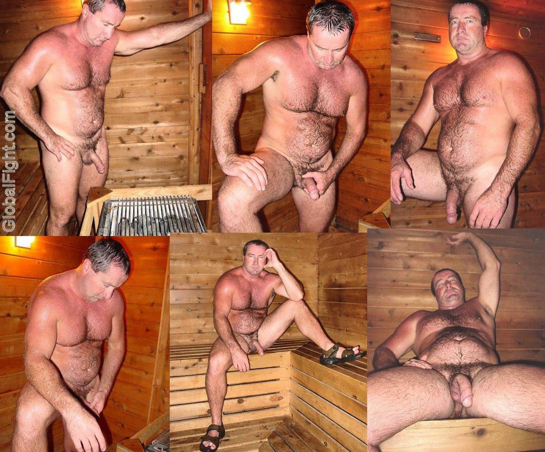 фото групповуха сауне волосатые мужики секс