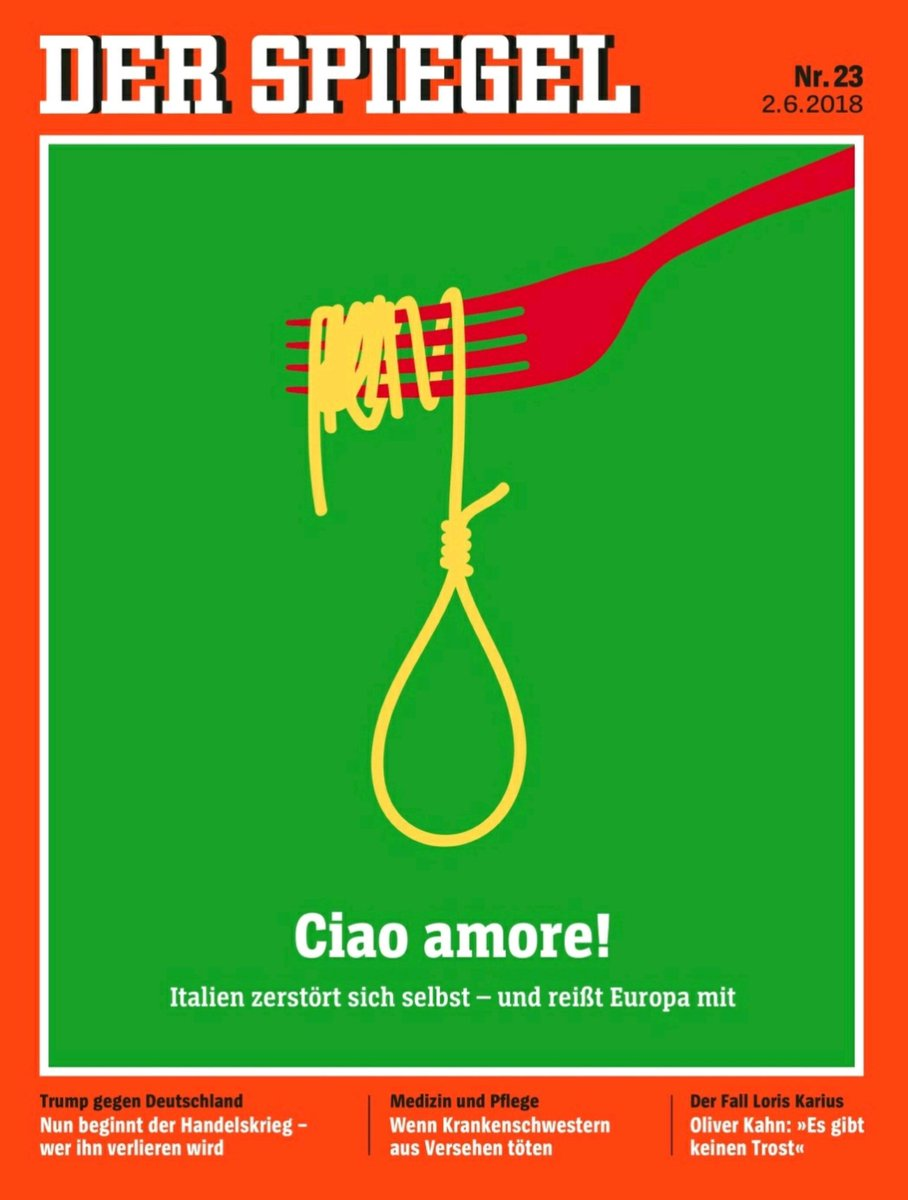 Alper Ucok On Twitter And Der Spiegel Cover Ciao Amore