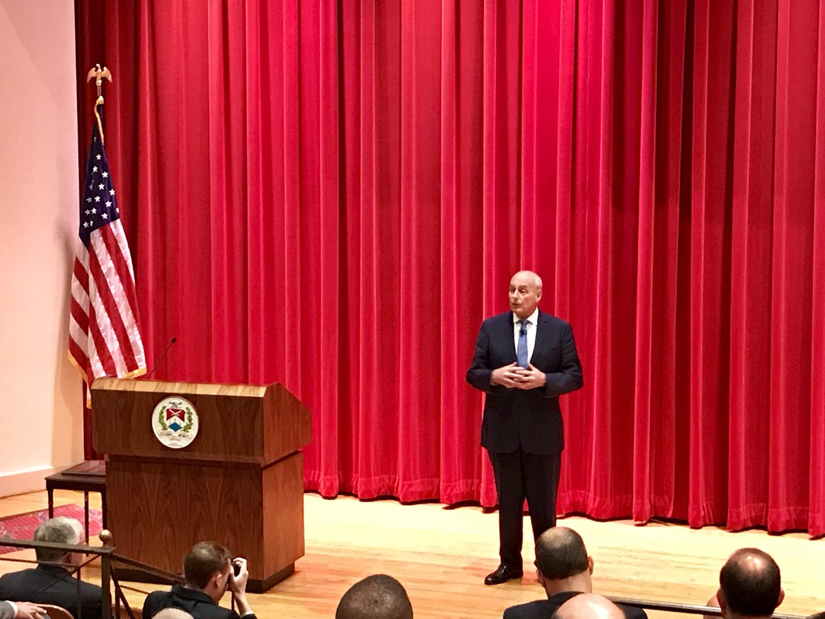 Our last National War College speaker of the year: @NWC_NDU Class of 1995 (and Committee 8!) alumnus GEN John Kelly, White House Chief of Staff.
