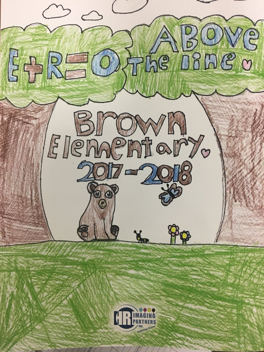 Tim Kight On Twitter This Is The Cover Of The Year Book For Brown