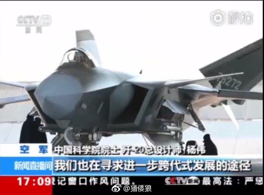المقاتلة الصينية J-20 Mighty Dragon المولود غير الشرعي - صفحة 4 DenqapFWAAE3kqu