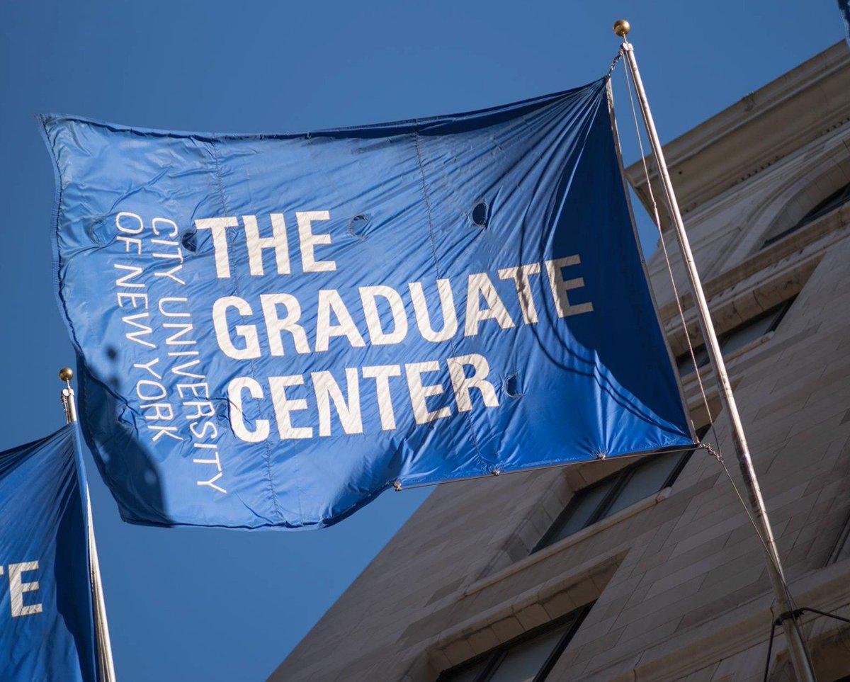 The Graduate Center on Twitter: