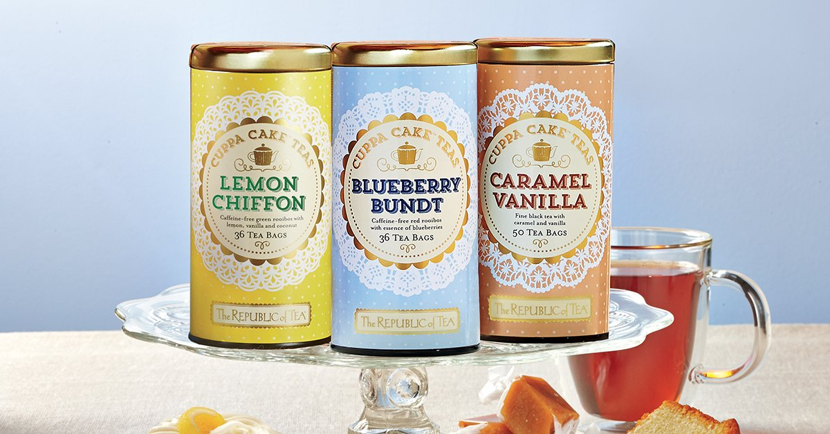 The Republic Of Tea On Twitter Inspired By Our Love Of Donuts And Sweets Our Cuppa Cake Teas Have The Decadent And Delicious Flavors Of Dessert Without The Calories Nationaldonutday Shop Now