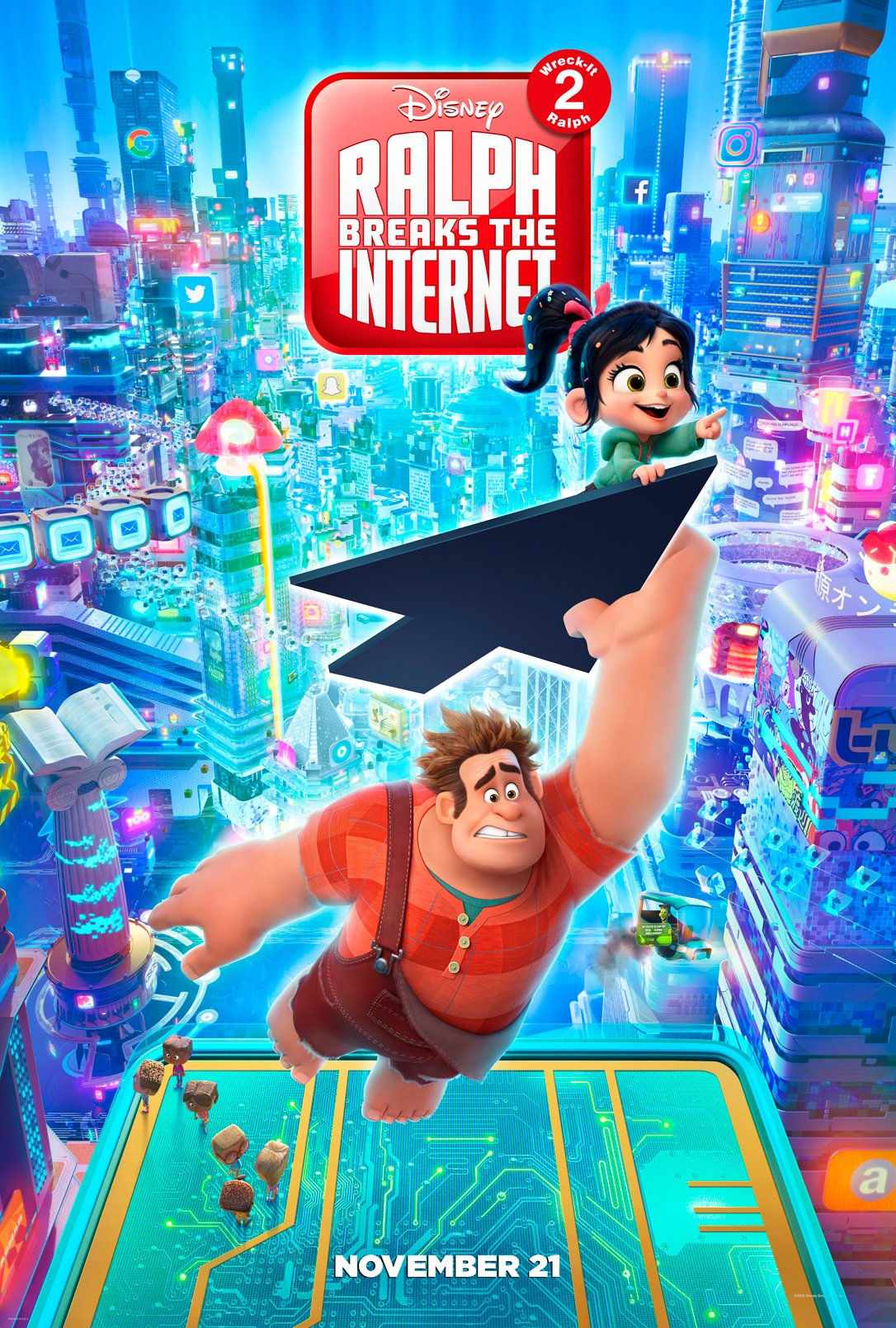 Algemene poster van Ralph Breaks the Internet