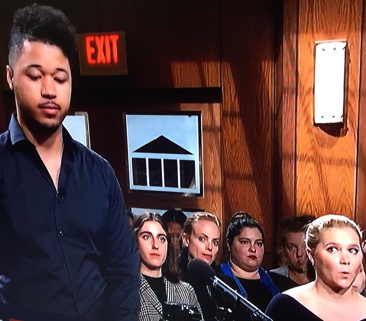 Order in the court! Please do not attempt to influence outcomes thru shocked facial expressions.