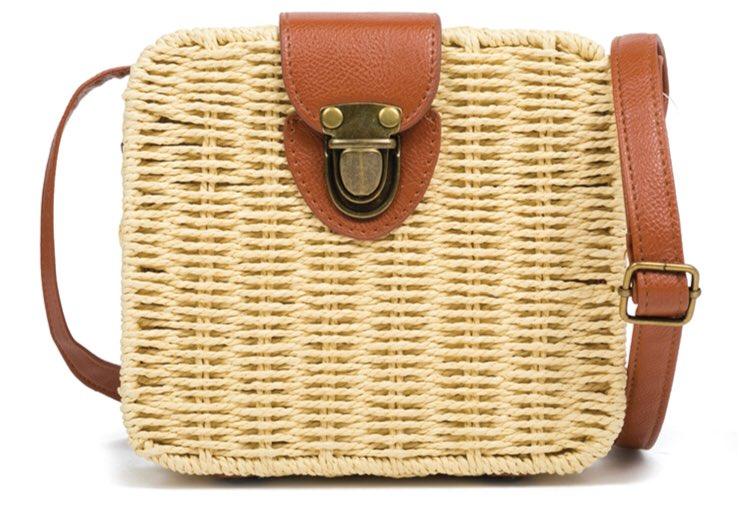 followMI σε ένα ρετρό καλοκαίρι με την fashion blogger nfsale ψηλοτάκουνα  πέδιλα ▻ http   bit.ly DF823-L11   την KJ011 μπεζ ψάθινη τσάντα ... f8db3418fa7