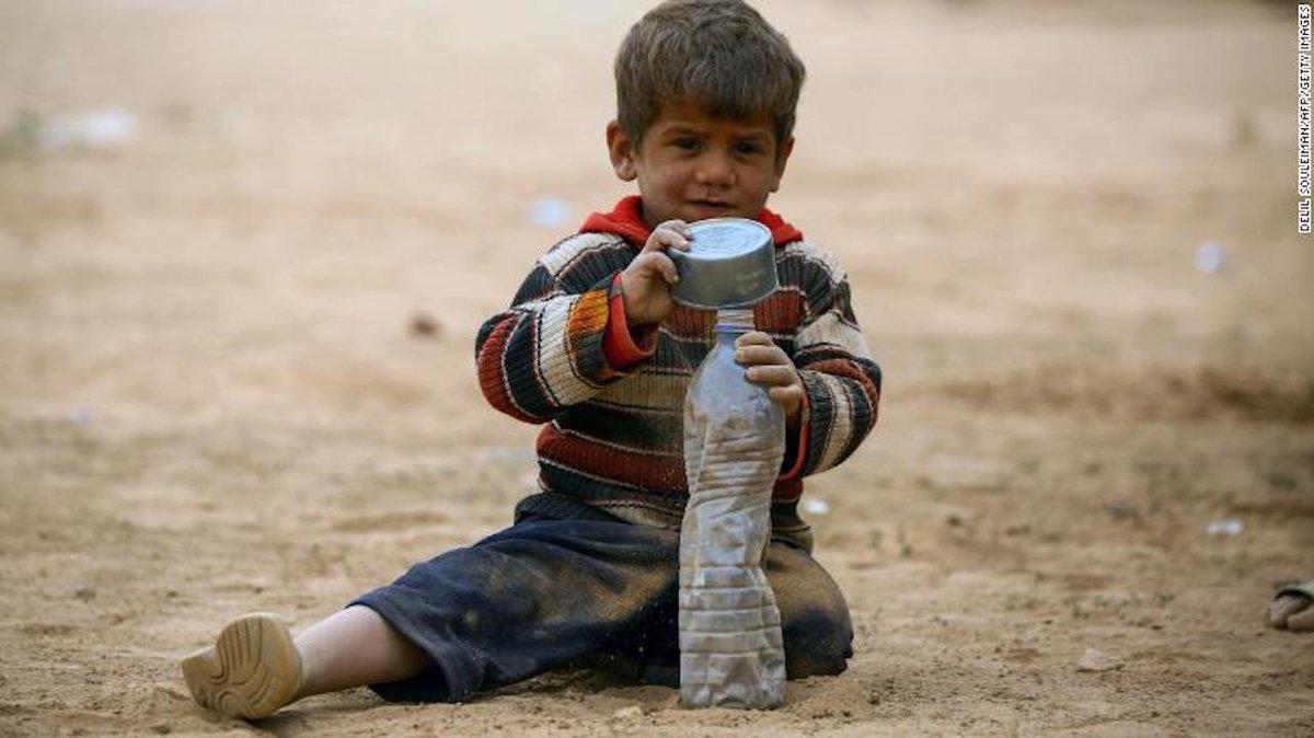 2fb170f4de La mitad de los niños del mundo están en riesgo de guerra, pobreza y  discriminación