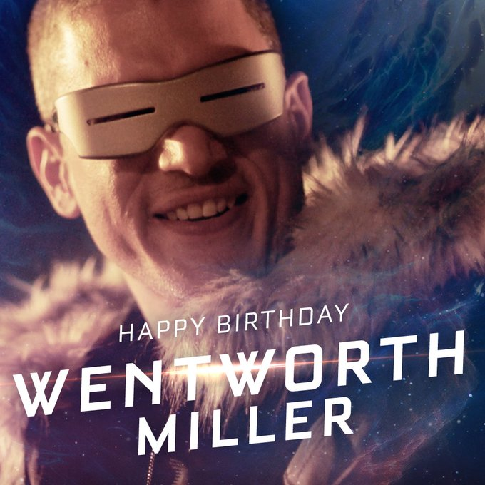 The coolest birthday ever. Happy Birthday, Wentworth Miller!