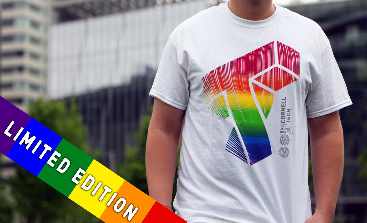 Happy #PrideMonth! Get a limited edition #Pride t-shirt from @CornellStore today: bit.ly/2LdKvQY