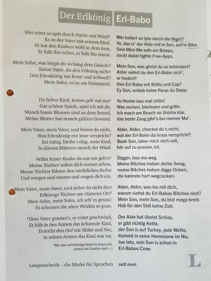 Gerhard W Loub On Twitter Erl Babo Via Barbara R Https