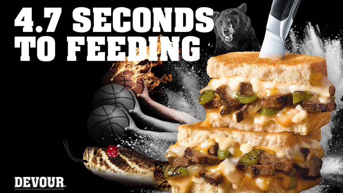 Devour Foods On Twitter A Lot Can Happen In 47 Seconds Like