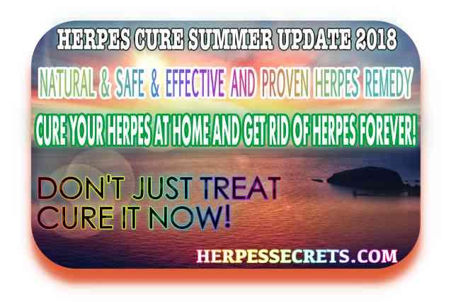 Herpes cure update 2018