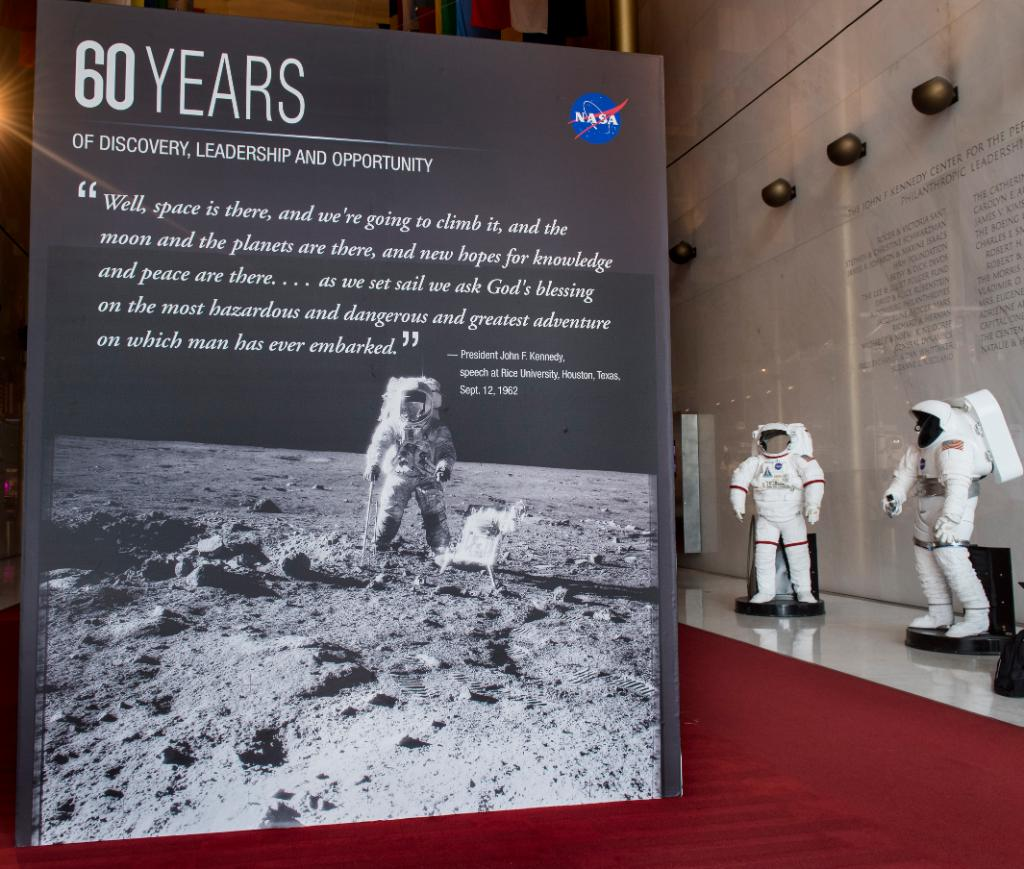 Reloaded twaddle – RT @NASA: In celebration of the #NASA60th anniversary later this year, @KenCen i...
