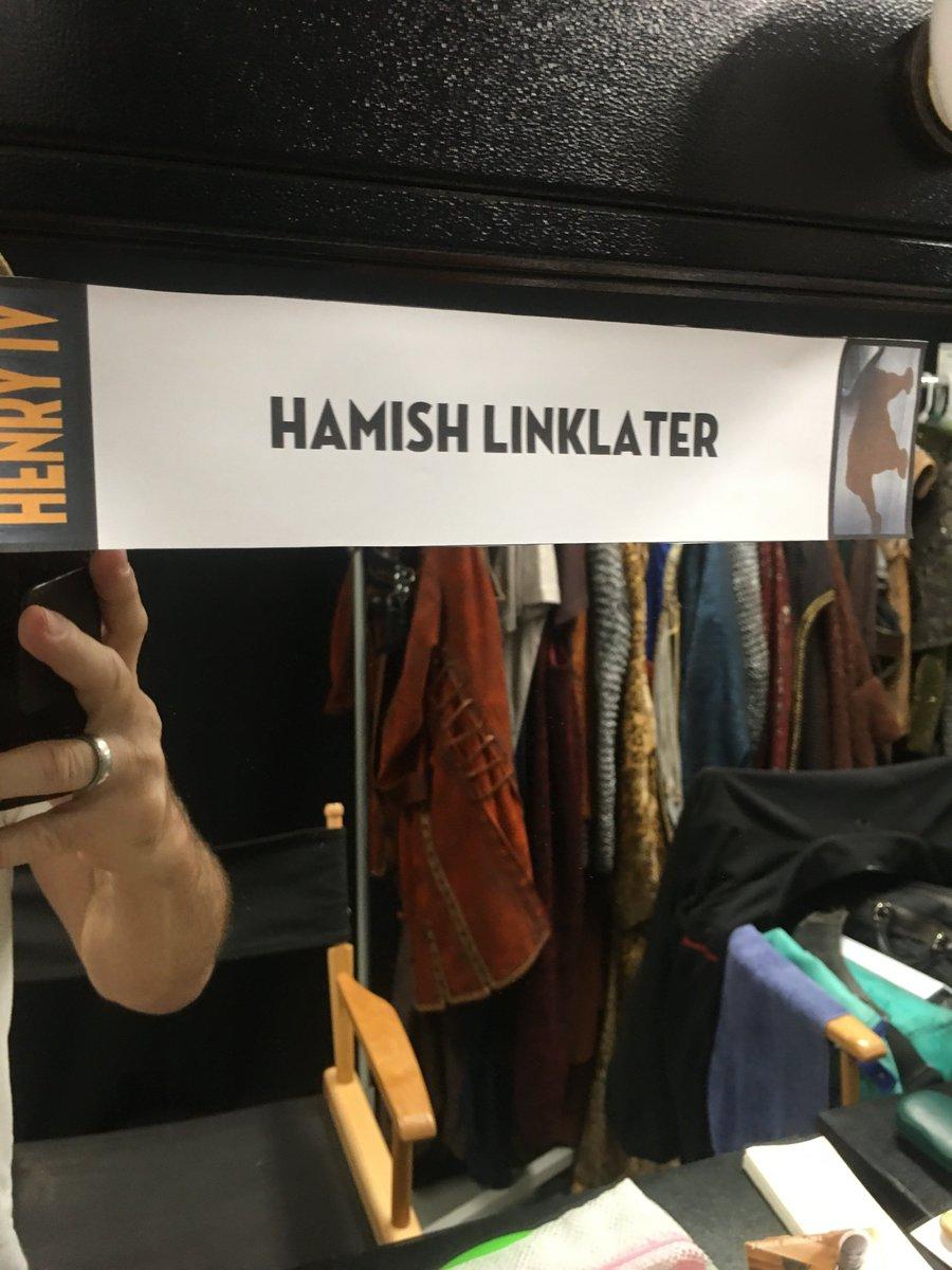 Prince Hal to Hanx Falstaff. Here, Prince! Hanx. #SCLAhenryIV
