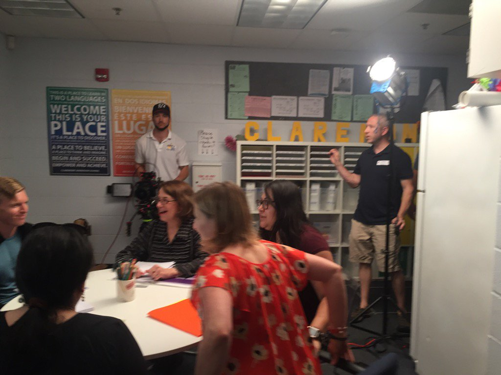 Thanks to the amazing team at <a target='_blank' href='http://twitter.com/CIS_APS'>@CIS_APS</a> for welcoming our telenovela cast and crew today! <a target='_blank' href='http://twitter.com/APSTeachLearn'>@APSTeachLearn</a> <a target='_blank' href='http://twitter.com/APSface'>@APSface</a> <a target='_blank' href='https://t.co/cuNW8zVxCX'>https://t.co/cuNW8zVxCX</a>