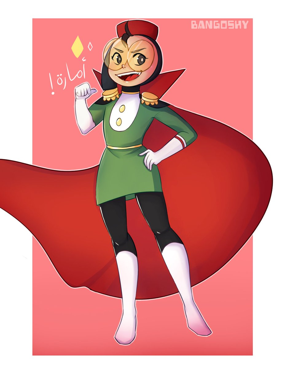 you folks @EatingStarsTeam  are doing an amazing job this is now one of my favourite cartoons the characters are so likeable and adorable i dropped everything i was doing and drew this 💕#emara