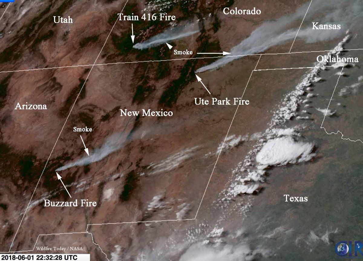 Wildfire Today On Twitter This Satellite Photo Was Taken At 4