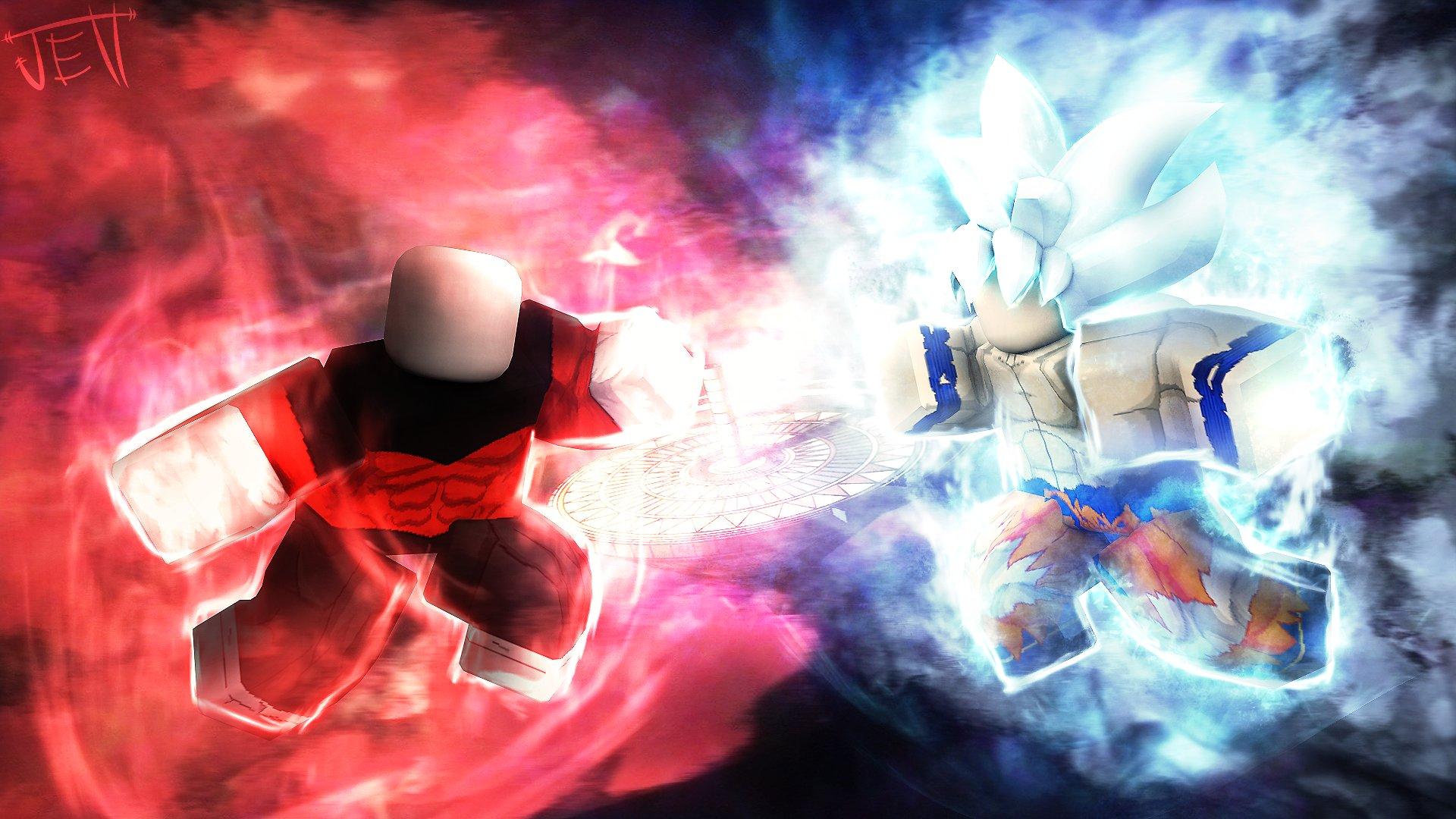 Goku Vs Jiren Roblox Je Tt On Twitter Jiren Vs Goku Mastered Ultra Instinct Robloxdev Roblox Robloxart Robloxgfx Rbxdev