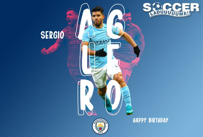 Manchester City\s Sergio Aguero is turning 30 today! Join us in wishing the striker a Happy Birthday!