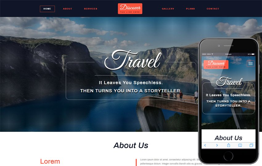 bootstrap templates free download w3layouts