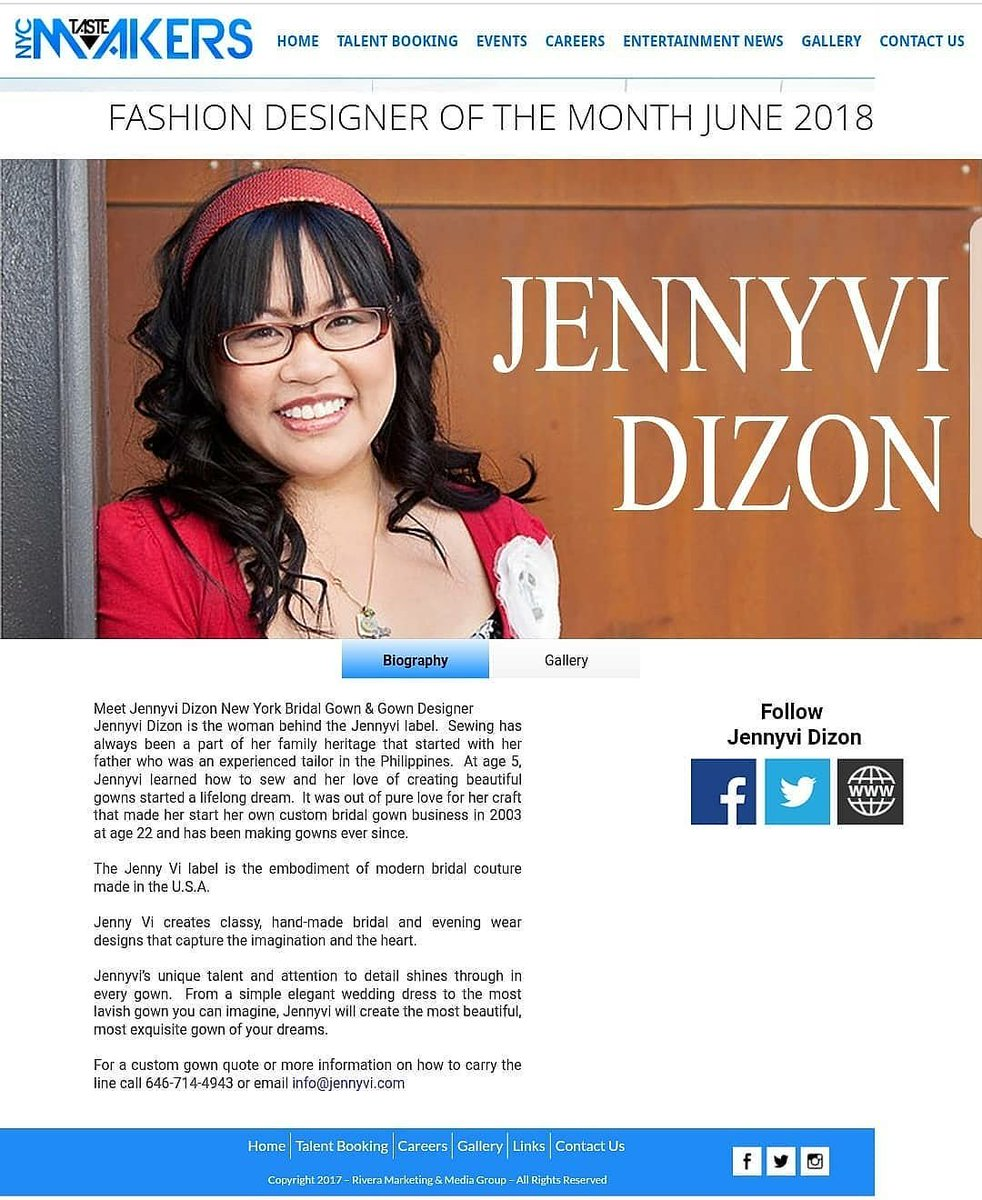Bronx Fashion Week Nyc On Twitter Check Https T Co Jitmownubu Check Out Https T Co Gqa8lhxzij Congratulate Jennyvi For Being Named Fashion Designer Of The Month Thank You For Being Our First Runway Coach Making History