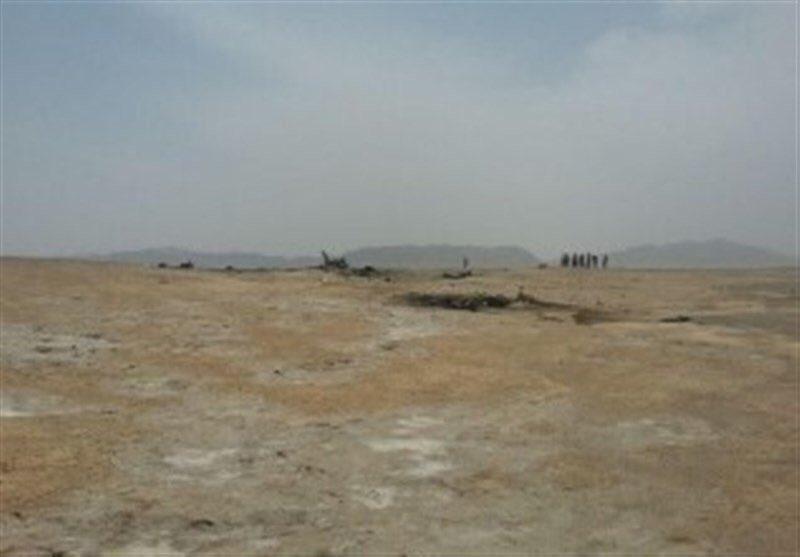 تحطم طائرة عسكرية إيرانية Der1crsXUAAmSrp