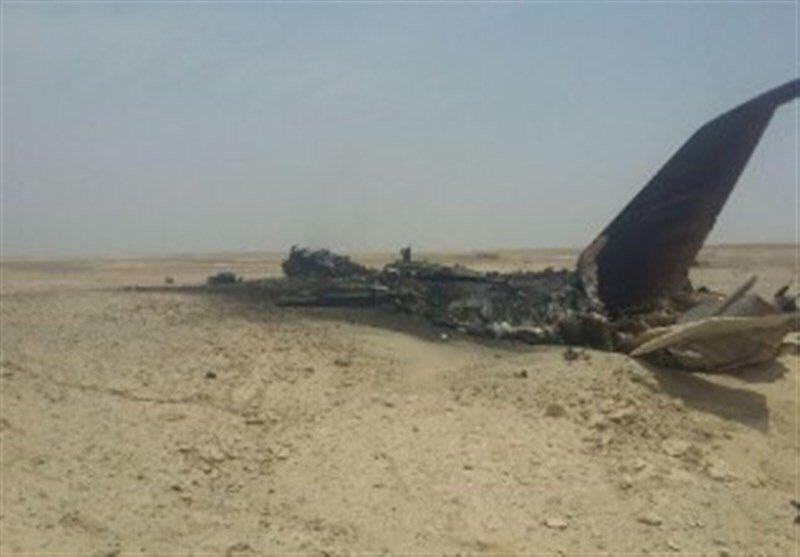 تحطم طائرة عسكرية إيرانية Der1cruW0AAIjfj