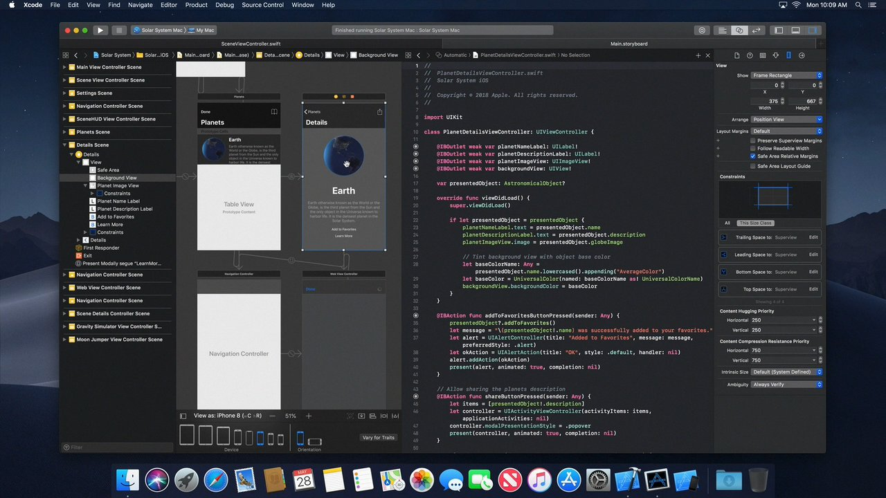 MacOS 10.14 screenshot