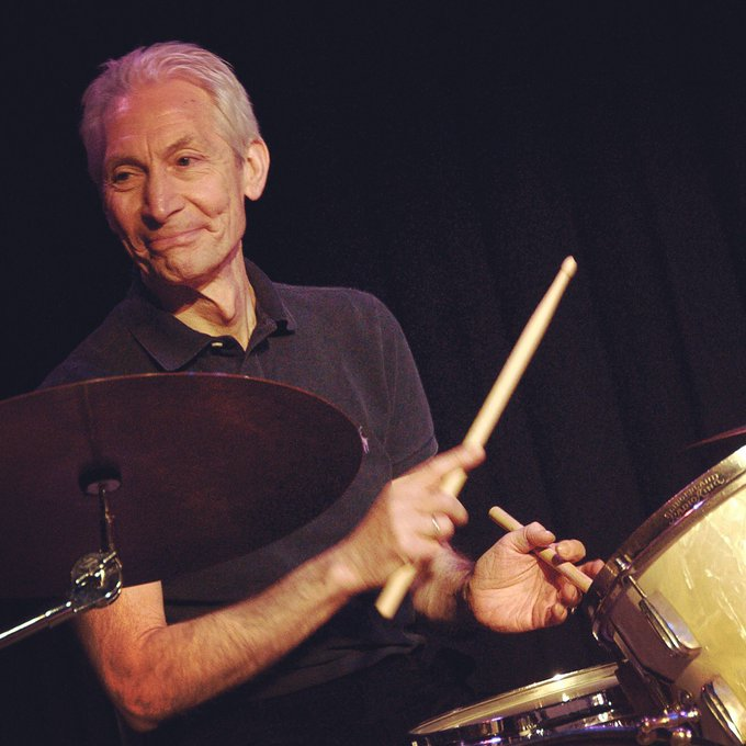 Happy birthday to the very heartbeat of The Rolling Stones - Mr Charlie Watts
