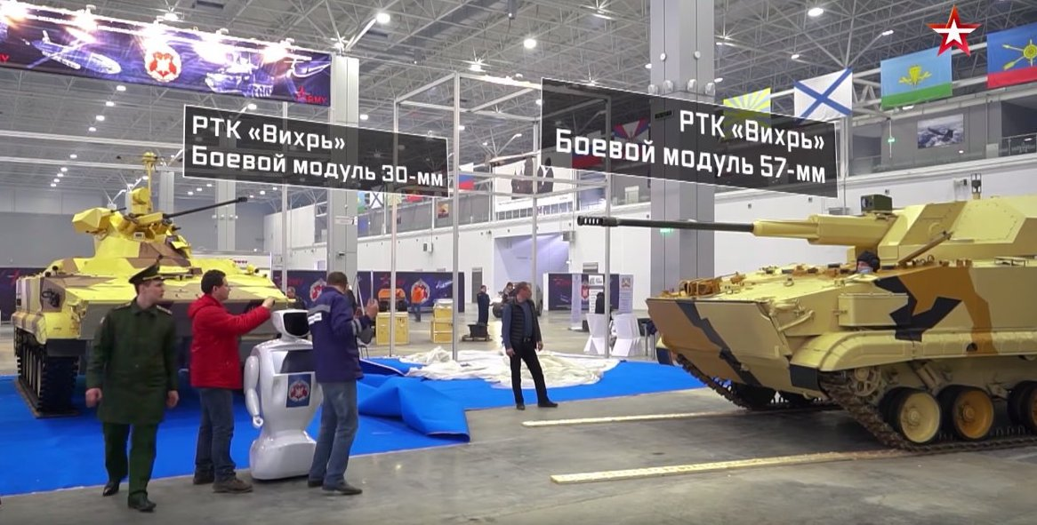 تطوير نسخه من مدرعه BMP-3 بمدفع اوتوماتيكي عيار 57 ملم  DerG6dOWsAAitr2