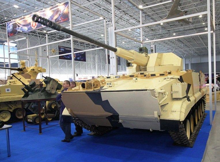 تطوير نسخه من مدرعه BMP-3 بمدفع اوتوماتيكي عيار 57 ملم  DerG7vOWkAATVSG