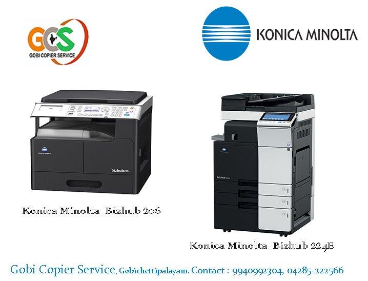 Konica minolta copier service Manuals
