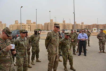 Task Force Spartan قوة الدفاع سبارتان On Twitter Maj Gen Andrew Schafer Tfs Commander Joined Other Leaders And Soldiers Of The 341st Mp Company At The Grand Opening Of A New
