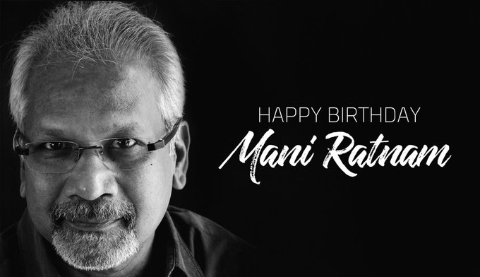 Happy Birthday Mani Ratnam sir and Master of   Ilayaraja Sir   . God bless!!!