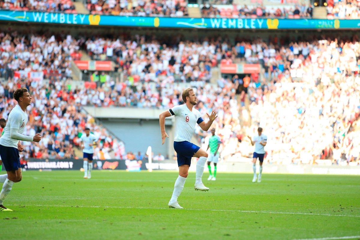 GIF:凯恩进球,英格兰2比0尼日利亚