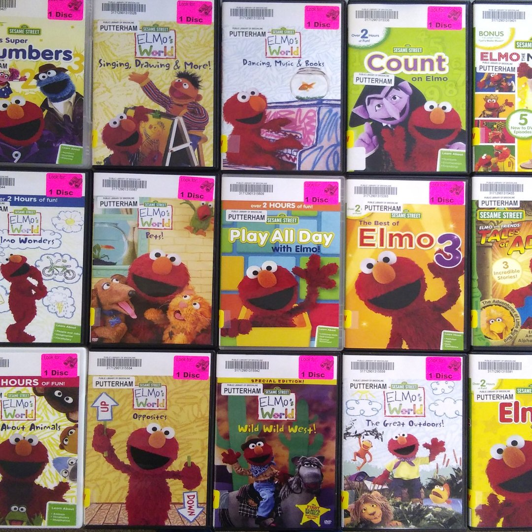 O Xrhsths Public Library Of Brookline Sto Twitter Elmo
