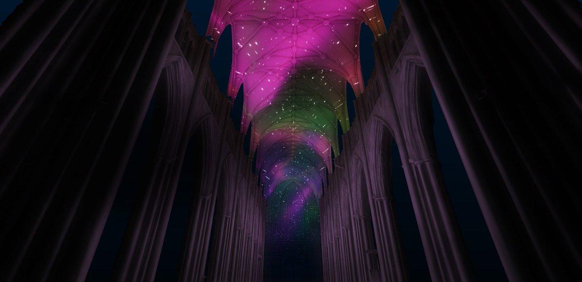 Light Projection Artist York Minster