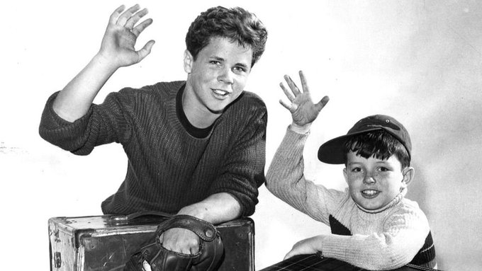 Happy 70th Birthday, Jerry Mathers Pictured: Tony Dow & Jerry Mathers in LEAVE IT TO BEAVER.
