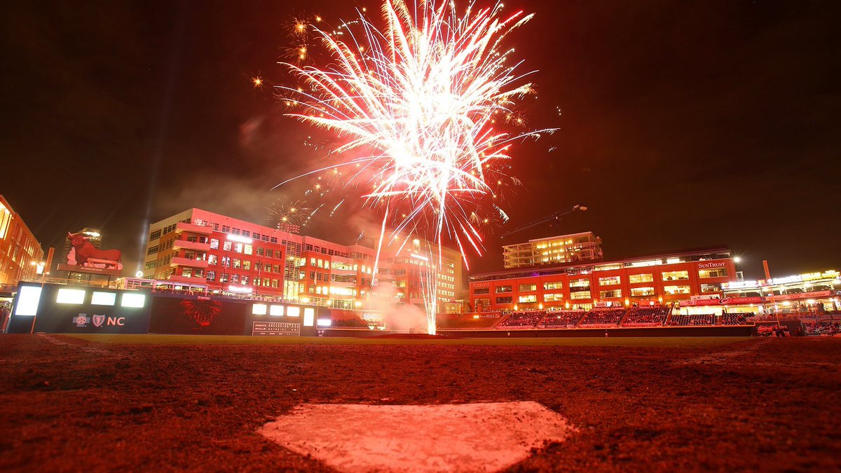Durham Bulls On Twitter Summer Saturdays Mean Fireworks In The