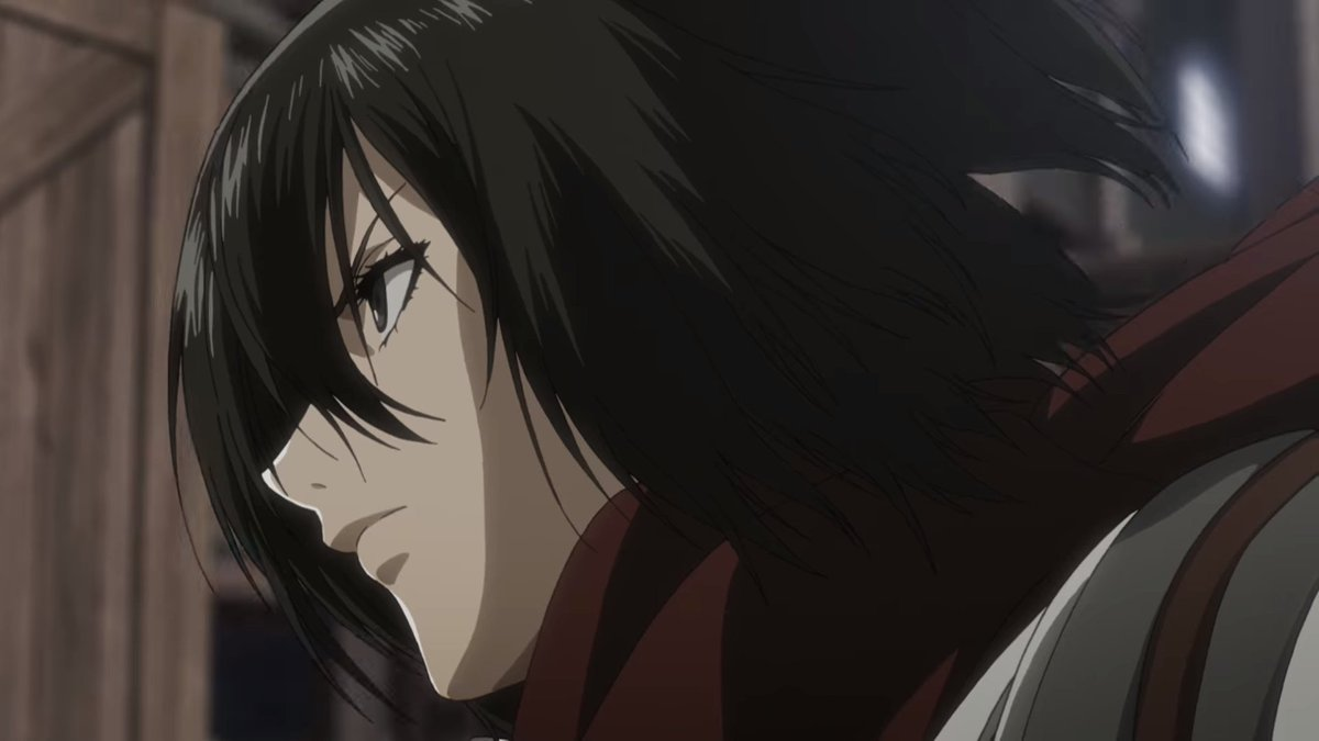 Attack On Titan Wiki On Twitter As Seen In The Attack On Titan Season 3 Trailer Looks Like Wit Studio Removed The Girly Lips Lipstick On Mikasa And Historia Do You Prefer It Mikasa confesses to eren eren uses the coordinates attack on titan season 2 episode 12 anime: attack on titan wiki on twitter as