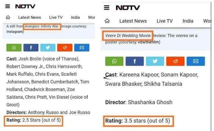 #Presstitutes #NDTV #Movies  #Paisa