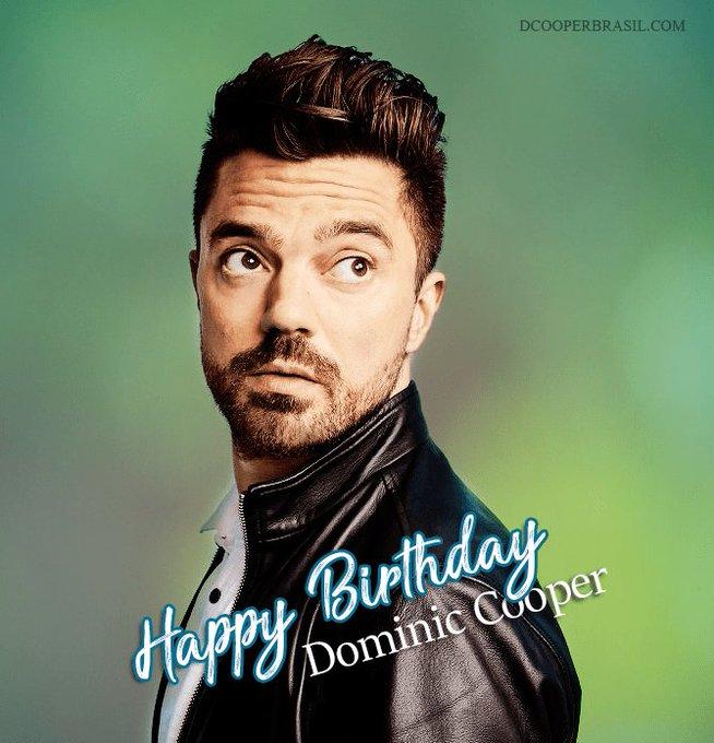 Happy Birthday Dominic Cooper!!