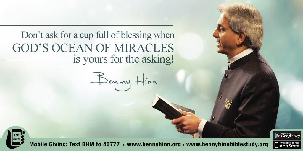 Benny Hinn on Twitter: