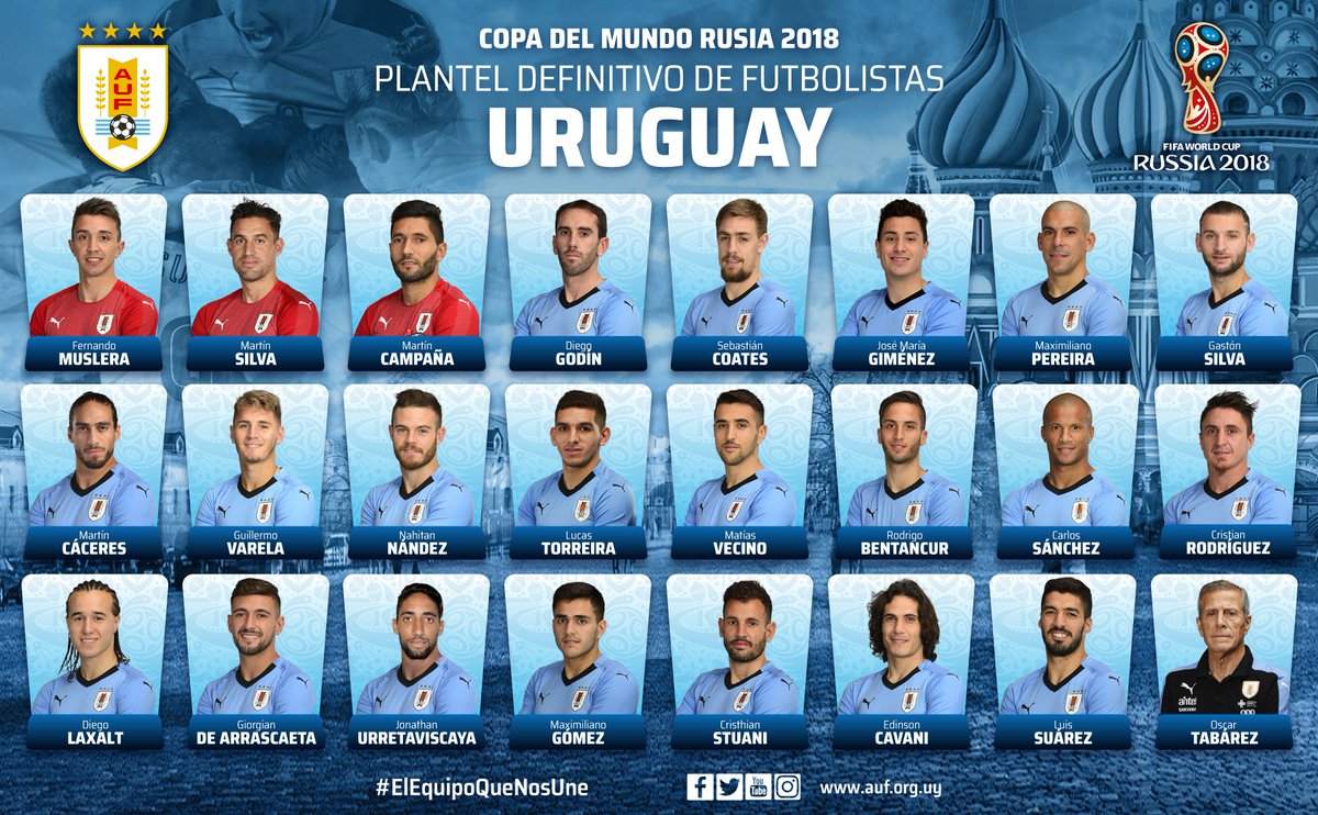 أوروجواي تستبعد لوديرو وراميرز وفالفيردي من قائمة المونديال