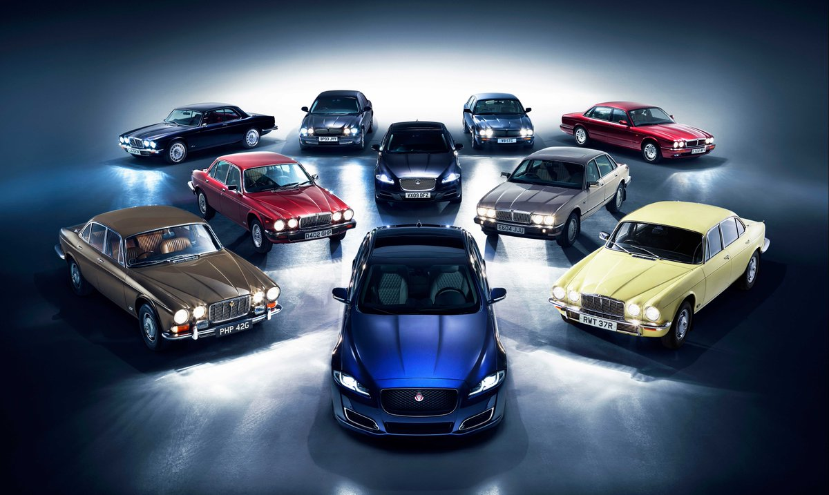 Jaguar On Twitter Launched In 1968 The Jaguar Xj Has Been The