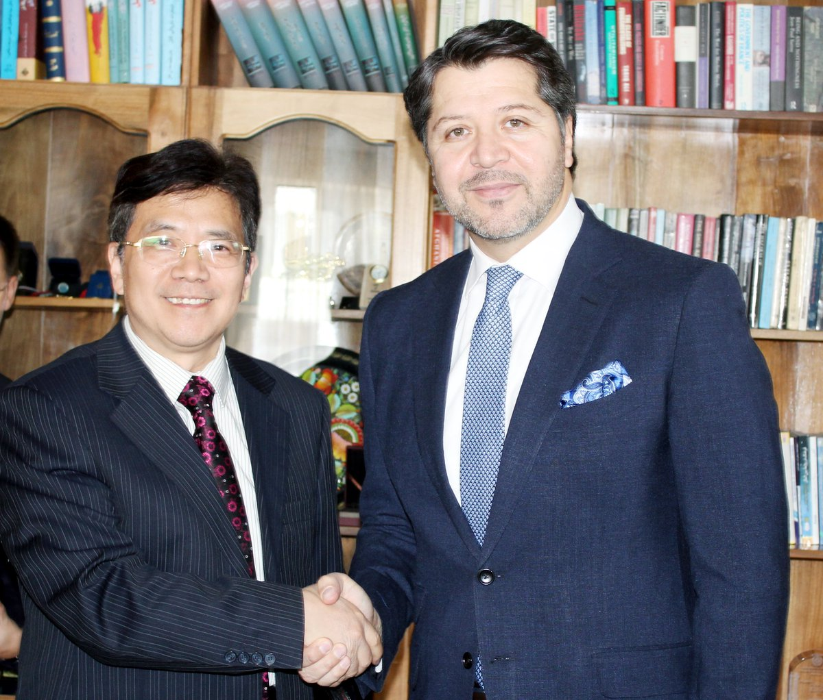 Good to welcome Amb Deng Xijun, Chinas Special Envoy for Afghanistan, to discuss the results of my recent visit to China, upcoming SCO Summit, regional engagement and peace.
