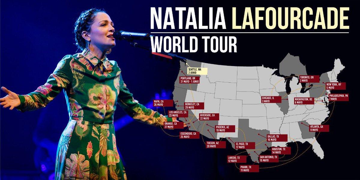 Natalia Lafourcade Tour  Usa
